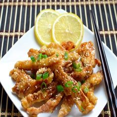 Chinese lemon chicken is a very popular take out Chinese recipe. This sweet and…