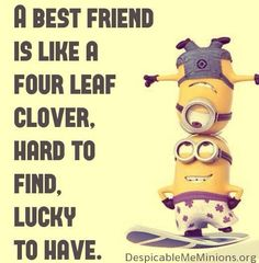 A best friend...