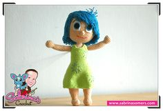 Joy - Inside Out - Free Crochet Pattern - Amigurumi