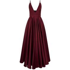 La Mania Alfa Cami Gown ($2,815) ❤ liked on Polyvore featuring dresses, gowns, short purple dresses, v neck cami, v neck cocktail dress, purple evening gowns and evening cocktail dresses