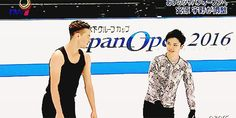 """Shoma Uno & Adam Rippon || 2016 Japan Open (x) """