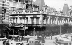 Mark Foy's at Liverpool St, Sydney in the 1900s,before the other two floors were added.