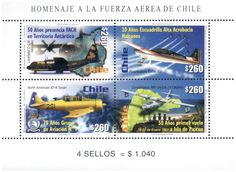 Emisiones postales 2001
