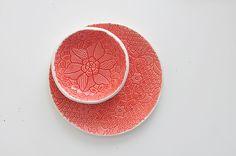 Ярмарка мастеров ignata ceramics http://www.livemaster.ru/ignataceramics  Кружевные тарелки
