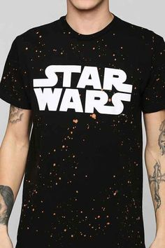 Star Wars Galaxy Tee- Black