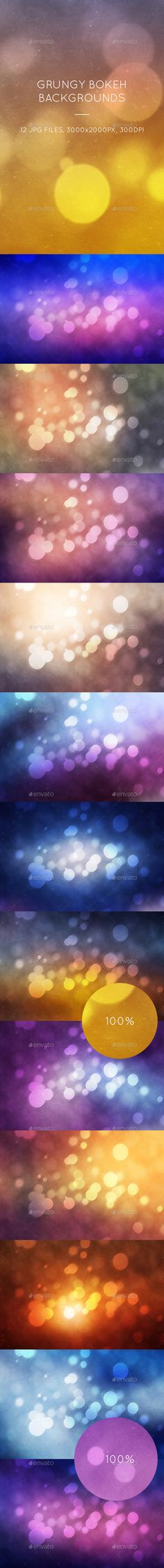 Grungy Bokeh Backgrounds - Abstract #Backgrounds Download here: https://graphicriver.net/item/grungy-bokeh-backgrounds/16616138?ref=alena994