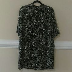 I just added this to my closet on Poshmark: Old navy high neck forest print mini dress. Price: $10 Size: SP