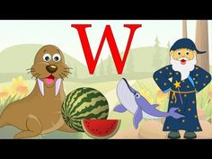 Learn About The Letter W - Preschool Activity