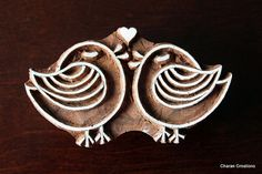 Wood Block Stamp Tjaps Indian Wood Stamp by charancreations, $26.00
