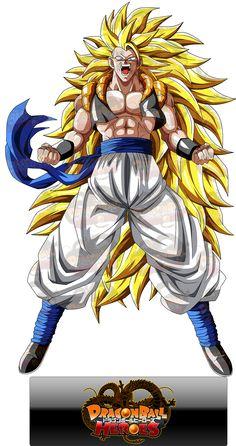 Gogeta or adult gotenks ssj 3 Goku Super Saiyan Blue, Manga Dbz, Thanos Avengers, Dragon Ball Z Shirt, Super Anime, Dbz Characters, Art Anime, Awesome Anime, Anime Comics