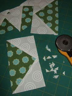 Flourishing Palms: No-Waste Flying Geese Tutorial