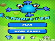 Connect'Em  Android Game - playslack.com , Connect'Em - a game problem, the content of this game - it is essential to connect water drops among themselves, but thus each sphere has a minor abstraction of divisions for connection. Thus, you need to connect them so that all accessible relations are used. There re three methods of game: escapade, passageway and survival.