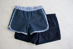 City Gym Shorts in Lana Cotta Canberra | The Purl Bee