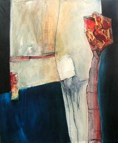 the flower, Gerard Brok - mixed media