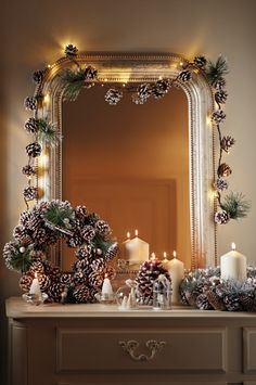 Make a grown up grotto of your own and add a little sparkle and shine.
