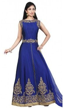 Royal Blue Readymde Designer Wedding Salwar Kameez and Wedding Suits Online #salwar, #kameez, #readymade, #anarkali, #patiala, #pakistani, #suits, #online, #stitched, #indian, #dress, #material, #shopping, #fashion, #boutique, #mode, @heenastyle