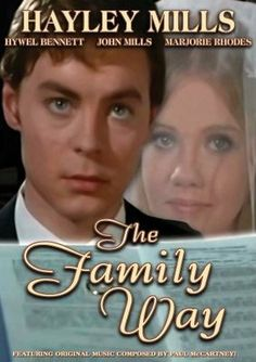 The Family Way - I forgot about this one! Loved this teen-toned movie with Haley Mills.