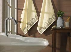 Jogo de toalhas Caracas. Fio Cardado, gramatura 430 g/m²