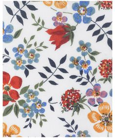 Primavera- I love this type of springy looking fabric where the flowers look like they've been just tossed on there.