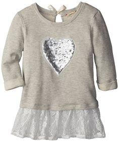 Speechless Big Girls' Girls Pullover Heart Sweater