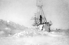 In April 1895 the Norwegian explorers Fridtjof Nansen and Hjalmar Johansen struck out for the Pole on skis after leaving Nansen's icebound ship Fram. The pair reached latitude 86°14′ North before they abandoned the attempt and turned southwards, eventually reaching Franz Josef Land.