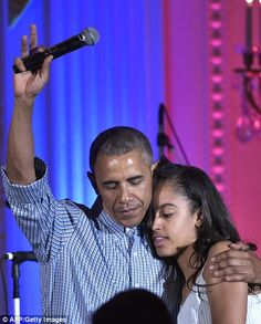 It emerged this week that Malia would follow in her parents' footsteps by attending Harvard University after taking a gap year