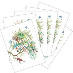 Little Otsu 6 Card Set