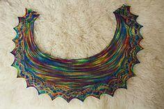 Ravelry: Le Weekend Shawlette pattern by Jan Henley free pattern