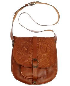 Patricia Nash:  Tooled Barcelona Crossbody -  Again, Belissimo!   I like this brand so much!