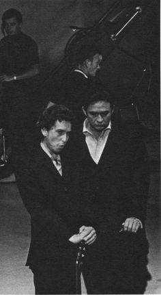 Bob Dylan & Johnny Cash // Visit www.broncobills.co.uk for more country/americana inspiration.