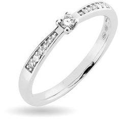 Paletti Jewelry - Amelie (diamond ring, K100-407VK)NordicJewel.com Love Bracelets, Cartier Love Bracelet, Bangles, Diamond Rings, Diamond Jewelry, Pendants, Engagement Rings, Earrings, Amelie