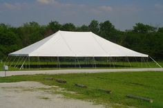 Tent manufacturer of 50u0027 x 70u0027 pole ... & Round u0026 Oval Tents vs. Square u0026 Rectangle Tents   Party Tents For ...