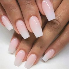 you should stay updated with latest nail art designs, nail colors, acrylic nails, coffin… - nailart Pink Glitter Nails, Pink Acrylic Nails, Acrylic Nail Designs, Gel Ombre Nails, Baby Pink Nails Acrylic, Ombre Nail Colors, Pink White Nails, Clear Glitter Nails, Black Ombre Nails