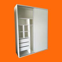 placard 180x240x60, puertas corredizas, manijon de aluminio