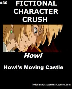 Howl Howl's Moving Castle Fictional Character Crush  | followpics.co