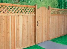 wood fence gate designs - Google Search