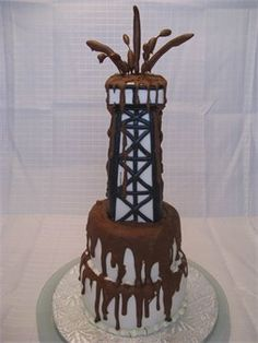 Oil rig cake - needs to be present at my future wedding