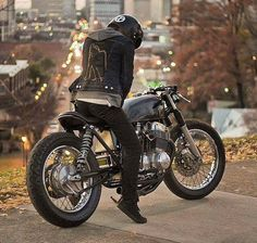 Forty Four Garage - Pin by Corb Motorcycles