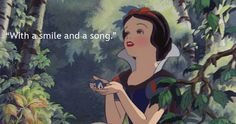 I got With a Smile and a Song! Which Disney Quote Should be Your Life Motto? | Oh My Disney