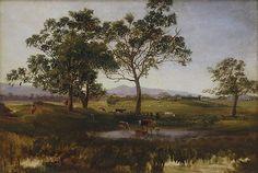 Nicholas Chevalier - A Victorian Homestead