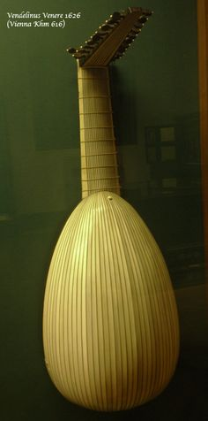 Vendelinu Venere ( Vienna Khm 616) Ivory multiribbed lute. See www.jminstruments.com to buy an affordable copy based on this instrument.