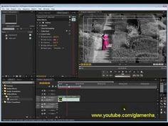Tutorial Adobe Premiere - Isolar / Descatar uma cor no vídeo. Nesta vídeo aula eu mostro duas maneiras de como aplicar esse efeito utilizando plugins nativos...