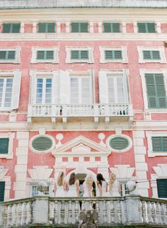 Dreamy Italian Riviera Wedding with Exclusive Italy Weddings Wedding Venues Italy, Best Wedding Venues, Italy Wedding, Wedding Reception, Santa Margherita Ligure, Italian Villa, Beautiful Park, Destination Wedding Photographer, Bridesmaids