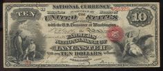 Prior to the American Civil War, state banks issued their own banknotes. During the Civil War, in 1863, the National Banking Act established a system of National Banks which were empowered to issue National Bank Notes subject to federal oversight. The chartering of banks and administrative control over the issuance of National Bank Notes were the responsibility of the Office of the Comptroller of the Currency.