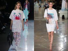 Summer tunics 2020 Blouse Patterns, Clothing Patterns, Blouse Designs, Emilio Pucci, Phillip Lim, Kenzo, Emporio Armani, Evening Blouses, Summer Tunics