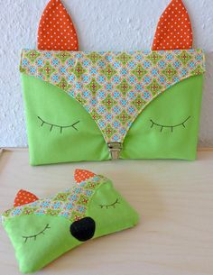 Out & About Foxy Nappy Bag & Hand Warmer | Bernina (with template)
