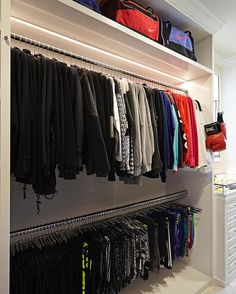 Lisa Adams, Owner Of LA Closet Design, Created Her A Dream Walk In Fitness  Closet For Khloe Kardashian, Star Of Keeping Up With The Kardashians.