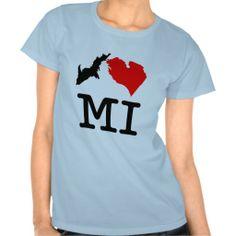 I ♥ MI (I heart Michigan) !!!