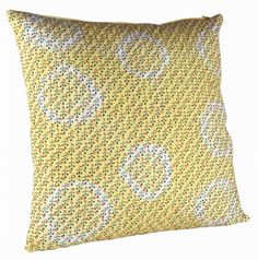 Wallpaper Cotton Throw Pillow (Set of 2)