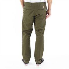CARHARTT Sid Pant || Eng geschnittene Chino-Hose mit leichtem Stretch-Anteil und schmaler werdendem Bein.